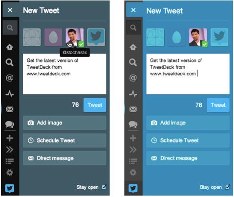 Twitter Tweetdeck Update