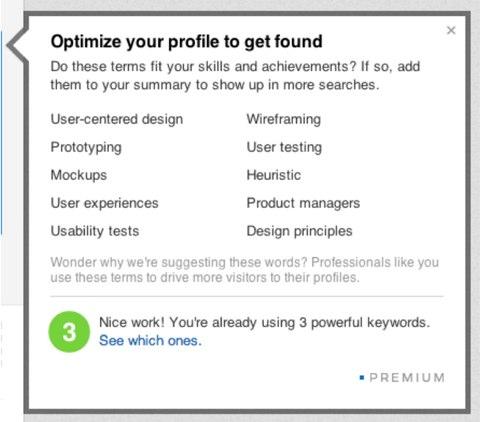 Linkedin-Profil optimieren