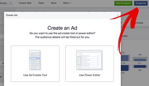 Erstellen Sie ein Facebook-Anzeigen-Popup