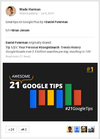 google plus teilen und taggen