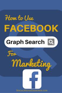 Verwendung der Facebook-Diagrammsuche für Marketing