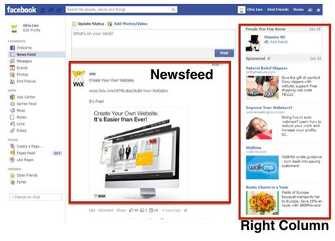 Image result for ads on facebook