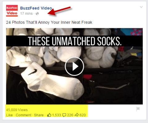 Buzzfeed Video Video Post auf Facebook