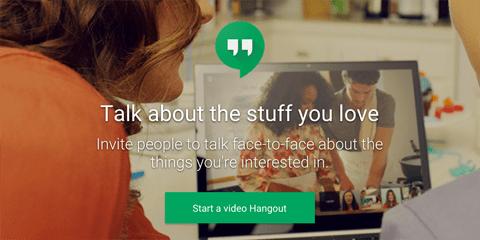 Google + Video Hangouts Bild