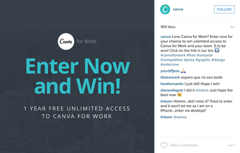 canva instagram image