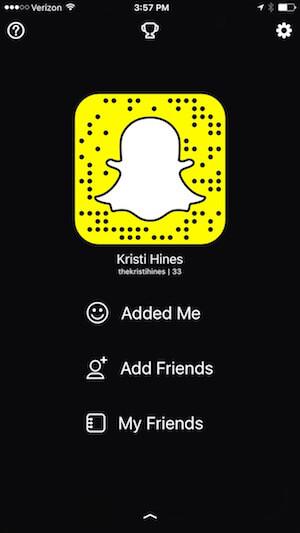 find profile settings