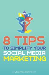 Vereinfachen Sie das Social Media Marketing