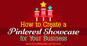 Pinterest Showcase for Your Business