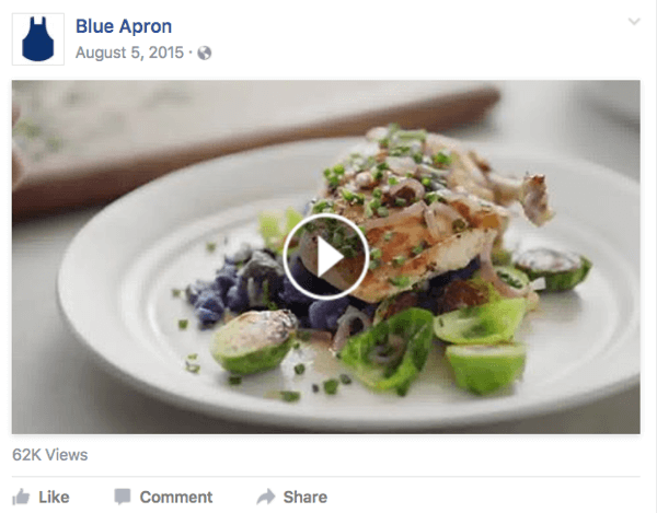 Create a video about what your business does to share on your website and Facebook page.