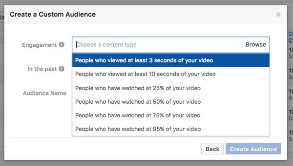 facebook video ad targeting