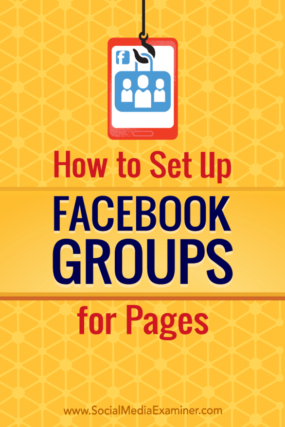 Discover how to create a Facebook group for your business and connect your Facebook page and group.