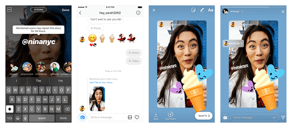 Instagram added one of its most-requested features to Stories, the ability to re-share a post from friends.