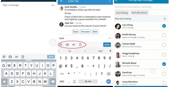 LinkedIn rolls out updates to LinkedIn Messaging.