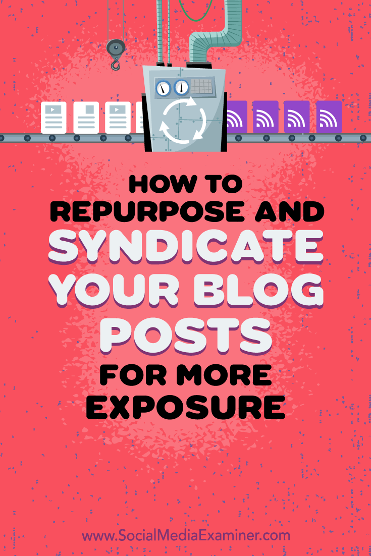 Learn how to republish your blog posts on social networks and other platforms while protecting your original content's search rank.