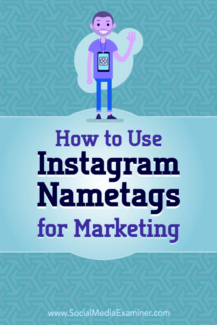 Discover how to find and customize your Instagram nametag so people can quickly follow your Instagram account.
