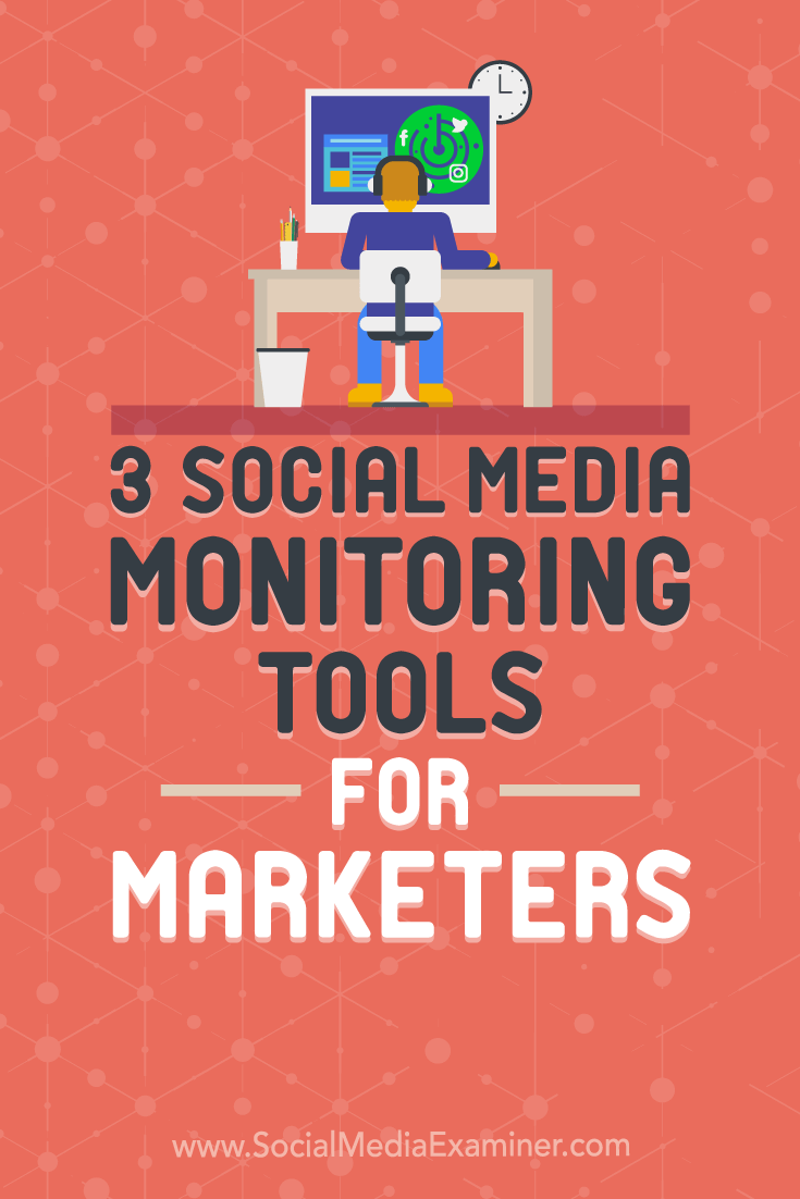 Discover three social listening tools designed to help you capitalize on influencer marketing, online mentions, and lead generation.