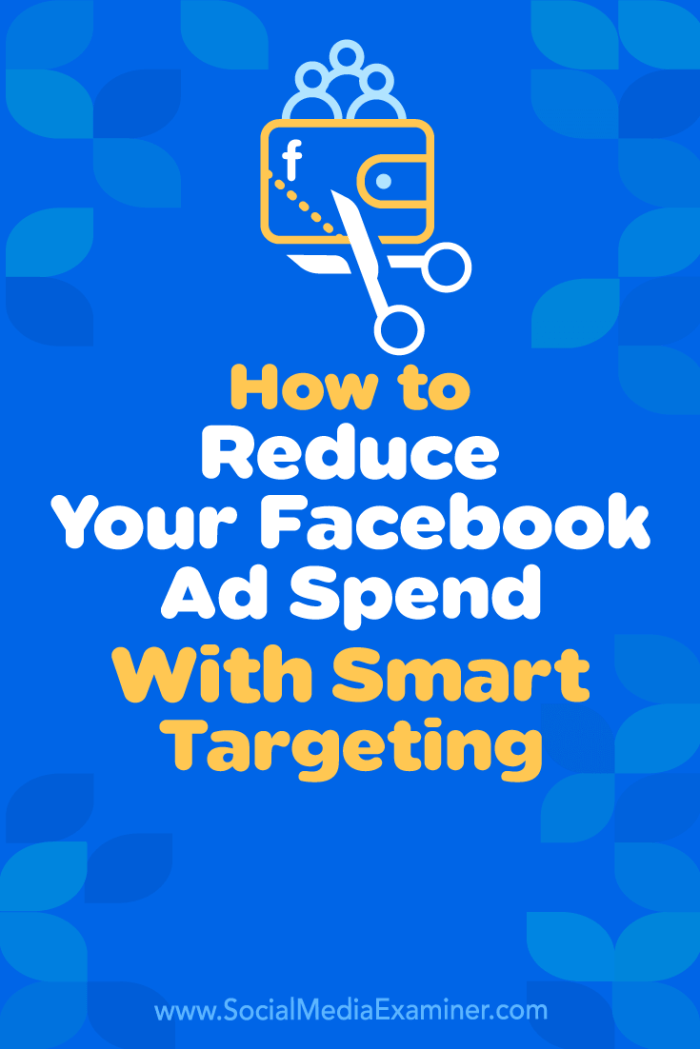 Discover three ways to build highly targeted Facebook audiences based on niche interests and reduce Facebook ad costs.