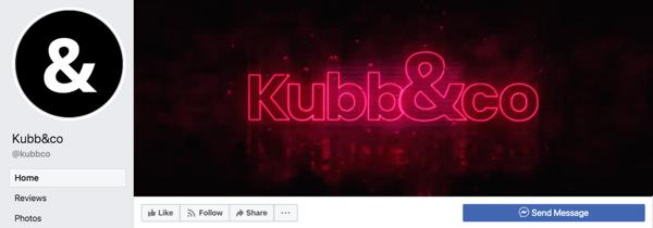 Una pagina aziendale di Facebook ti consente di pubblicare, pubblicizzare e focalizzare i tuoi contenuti intorno alla tua attività, settore e clienti.