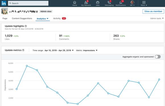 استخدم LinkedIn Analytics لقياس أداء صفحاتك ومحتوياتك على LinkedIn.