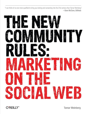 New Community Rules: Marketing On The Social Web - Cover Art
