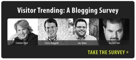 Corporate Blogging Survey