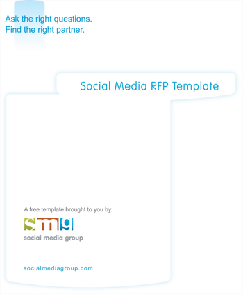 Social Media RFP Template - Social Media Group