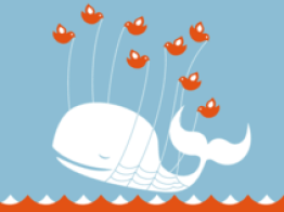 the Twitter fail whale error message.