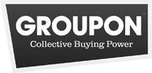 Groupon logo.