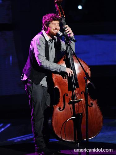 Casey upright bass American Idol