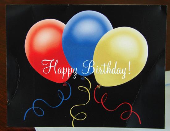Happy Birthday Customer