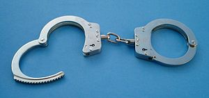 Hiatt type 2010 handcuffs. Circa 1990s