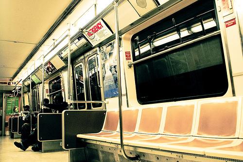 nyc. subway.
