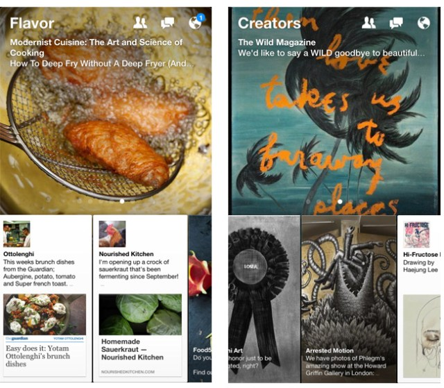Facebook Paper Content Sections