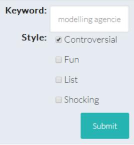 LB Keyword
