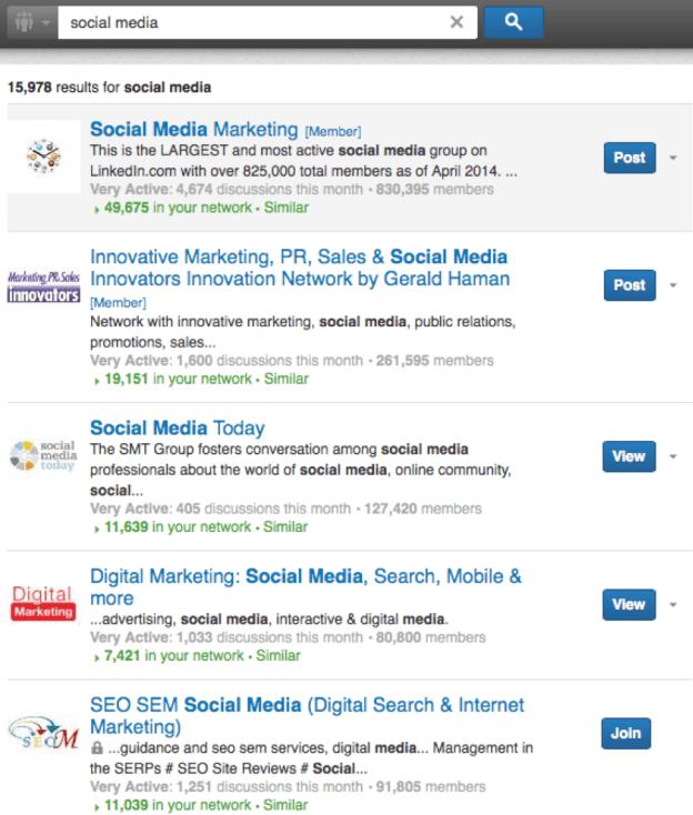 LinkedIn Communities