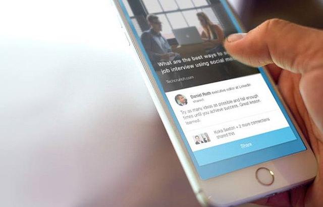 LinkedIn Mobile Phone App flickr