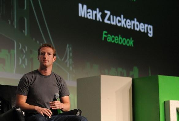 Mark Zuckerberg Facebook Conference Pic