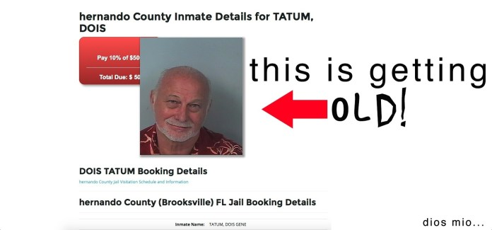 """This is getting old!"" (Bail Bond City)"