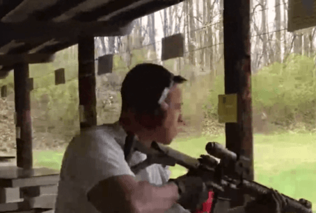 Johnny Cirucci aka John Michael Del Palazzo scopes his target!
