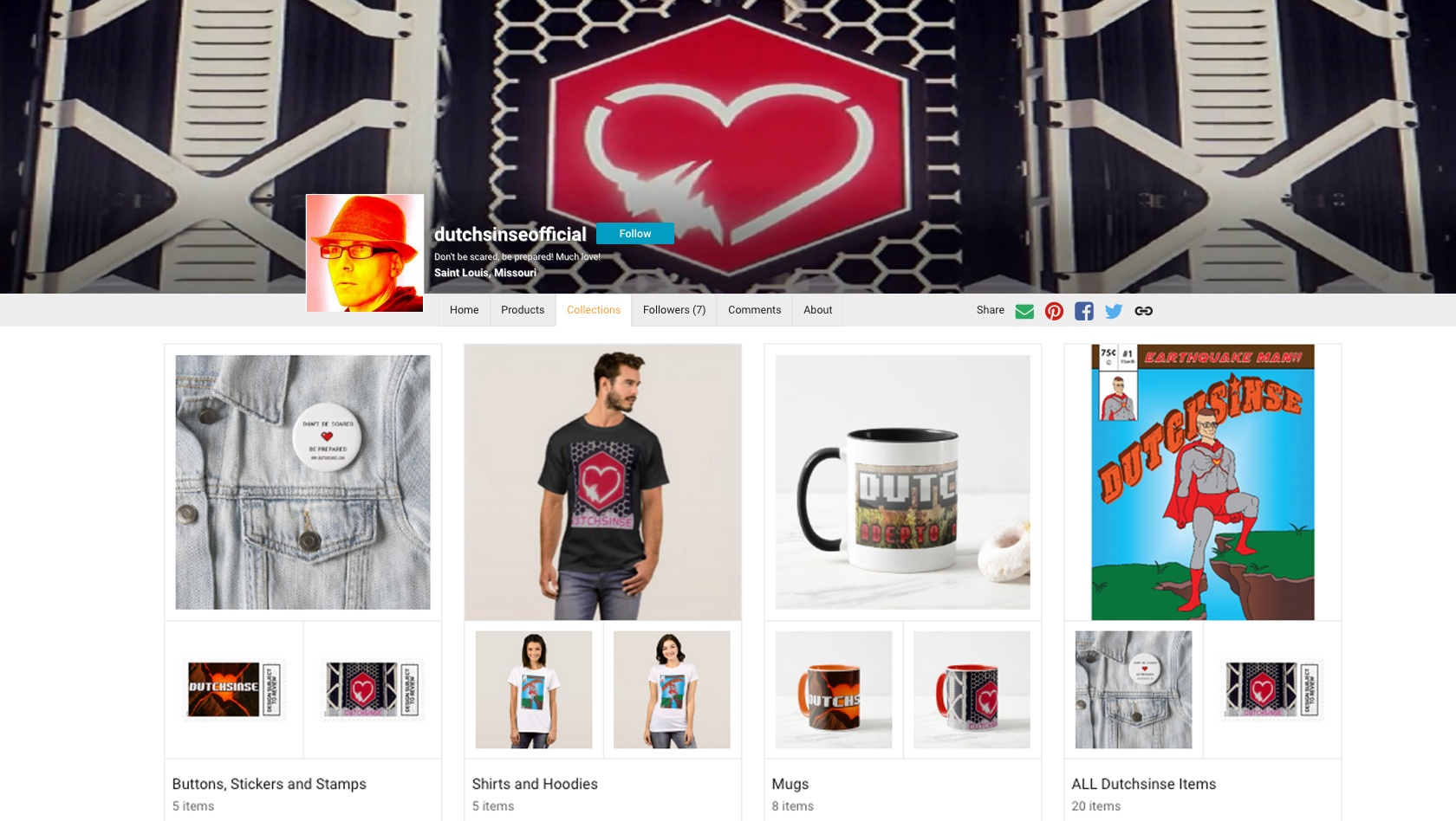 Dutchsinse on the Dutchsinse Official zazzle store!