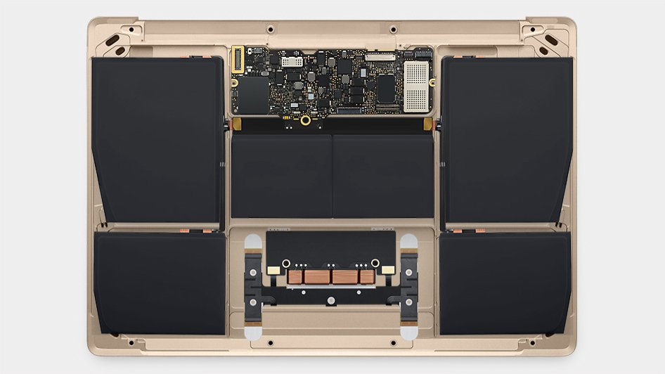 MacBook board battery