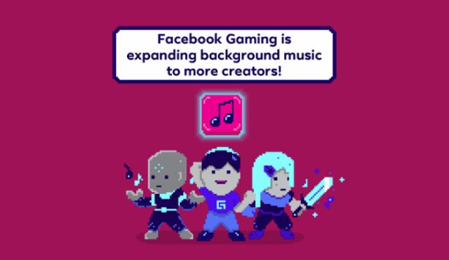 Facebook Gaming music announcement