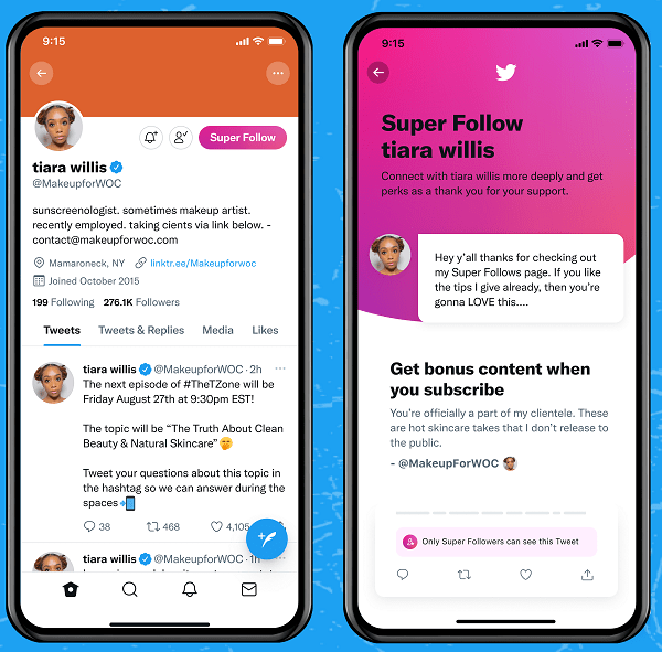 Super Follows overview