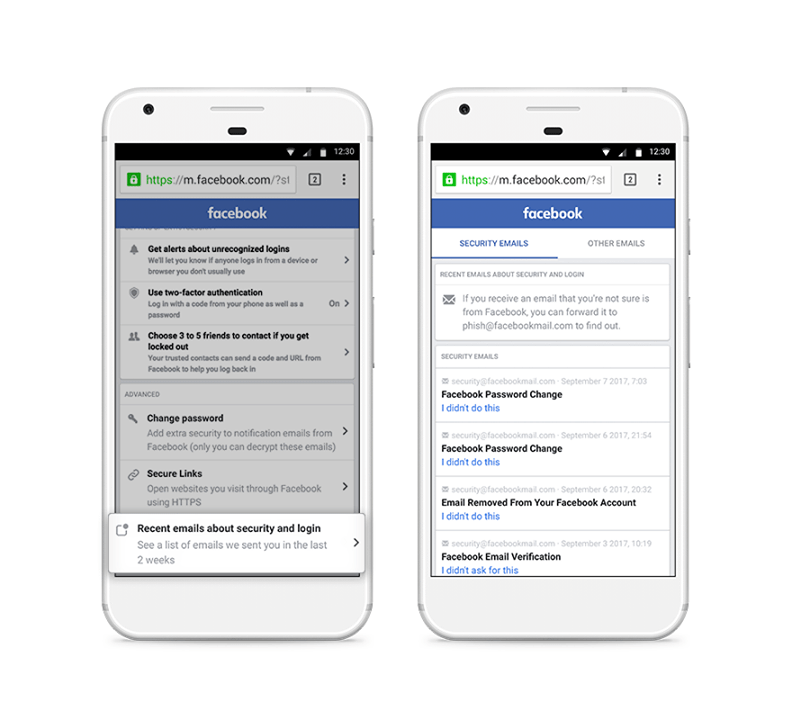 Facebook Adds New Listing of All Emails They've Sent to You, in Order to Negate Scammers | Social Media Today