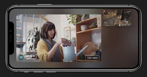 Facebook in-stream video ad
