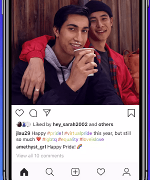 Instagram Pride Month