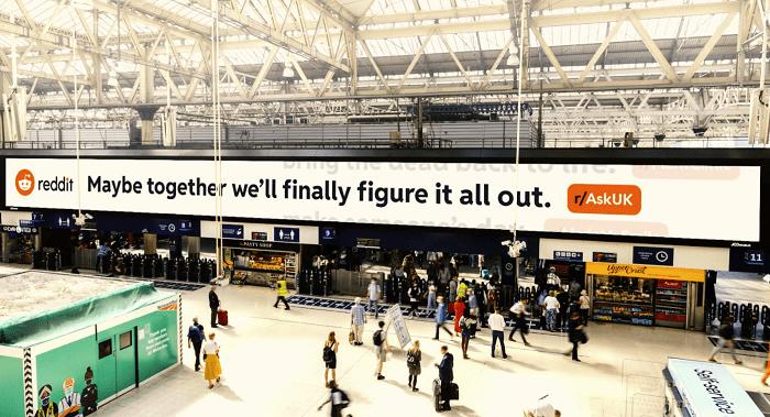 Reddit UK ad campaign