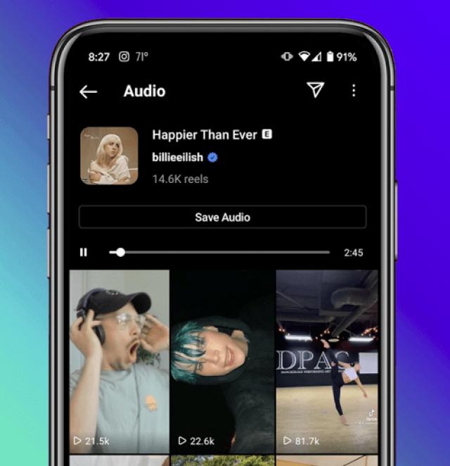 audio tab instagram limelightmedia.it