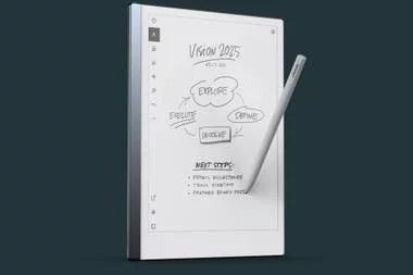 La tableta ReMarkable 2 tiene una pantalla similar a la tinta electrónica para asegurar su visibilidad a la luz directa y mejorar su autonomía