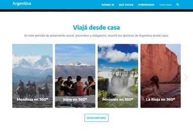 El sitio del Ministerio de Turismo muestra diversas atracciones nacionales para ver en video 360